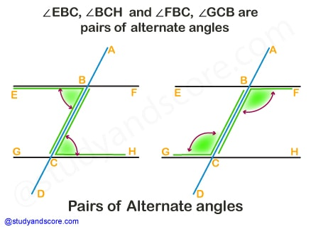 bisector of an angle, Acute angle, right angle, obtuse anfle, straight angle, reflex angle, full angle, complete angle, types of angles, pairs of angles, corresponding angles, adjacent angles, internal angles, linear pair, complementary angles, supplementary angles, vertically opposite angles, alternate angles